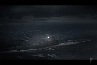 Art by Stefanie Meunier - Stormy night concept for ABCs Zero Hour