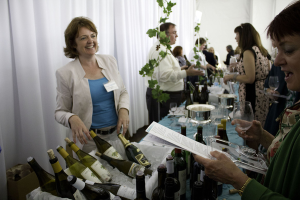 Sara Schoenberger - Once Upon A Vine XIX (Food & Wine Tasting) For Martin Wine Cellar, 2013