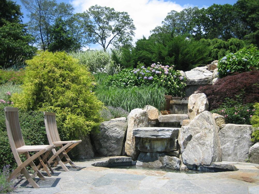 bkla studio - spa with multi-level waterfall