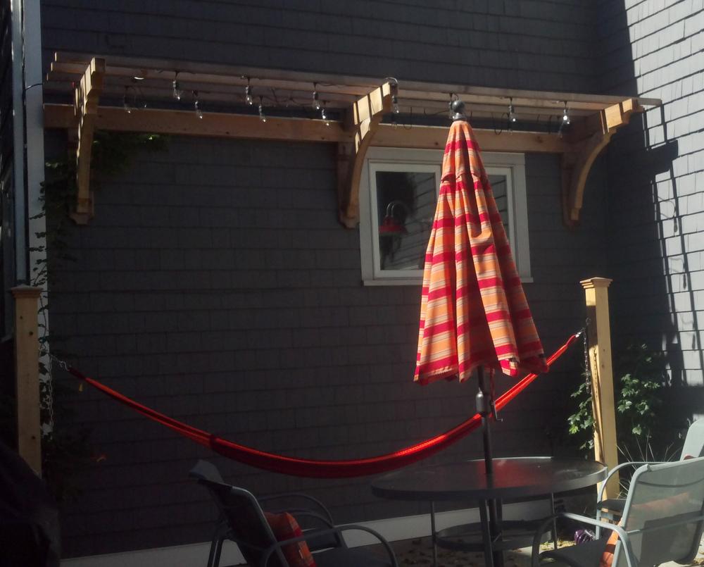 bkla studio - custom made wooden trellis