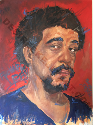Desiree Kelly Art - Detroit based artist - Richard Pryor