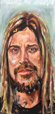 Desiree Kelly Art - Detroit based artist - Kid Rock (Sold)