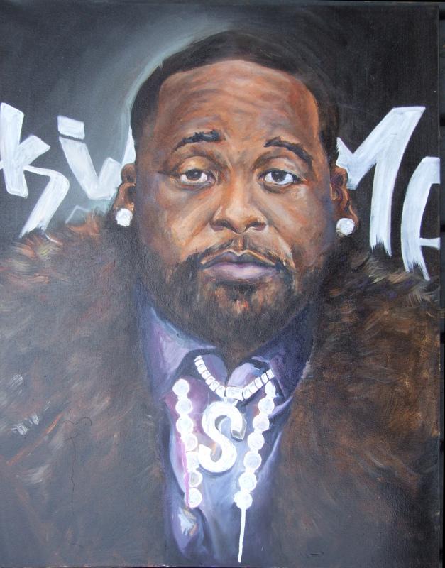 Desiree Kelly Art - Detroit based artist - King of Detroit (NFS)