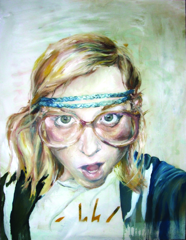 Desiree Kelly Art - Detroit based artist - Retspih (sold)