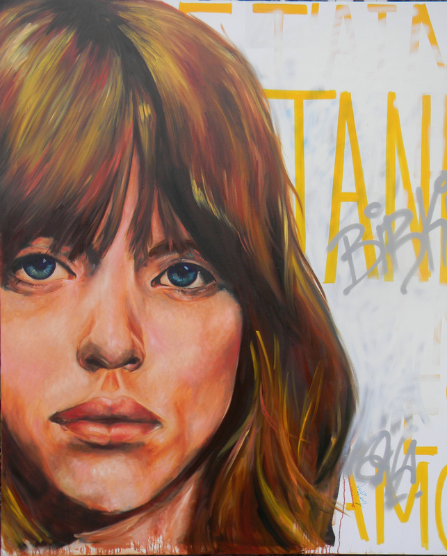 Desiree Kelly Art - Detroit based artist - Jane