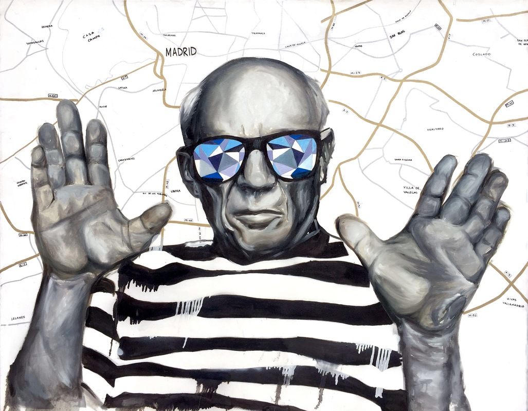 Desiree Kelly Art - Detroit based artist - Picasso (Limited Edition Prints available)