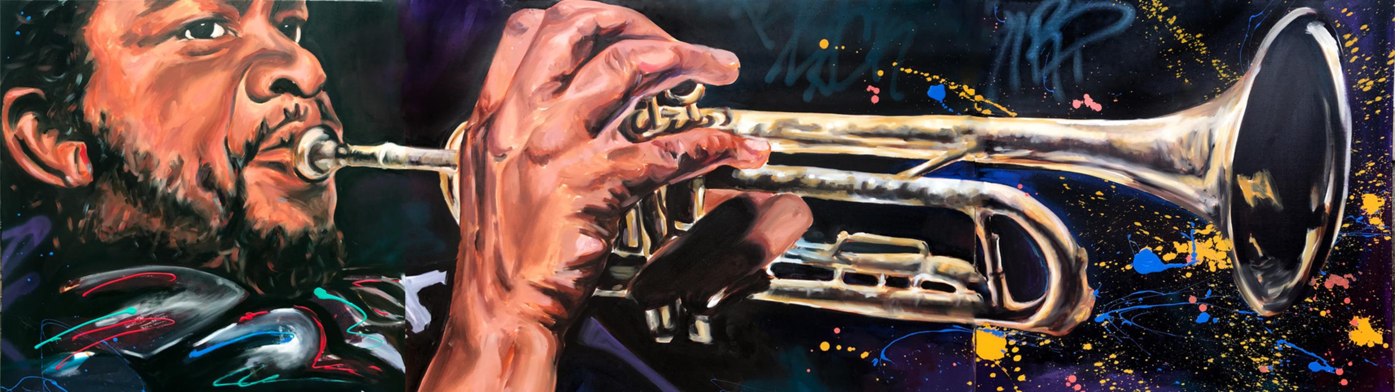 Desiree Kelly Art - Detroit based artist - Donald Byrd