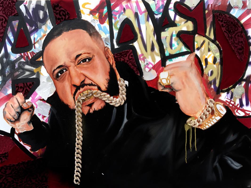 Desiree Kelly Art - Detroit based artist - DJ Khaled