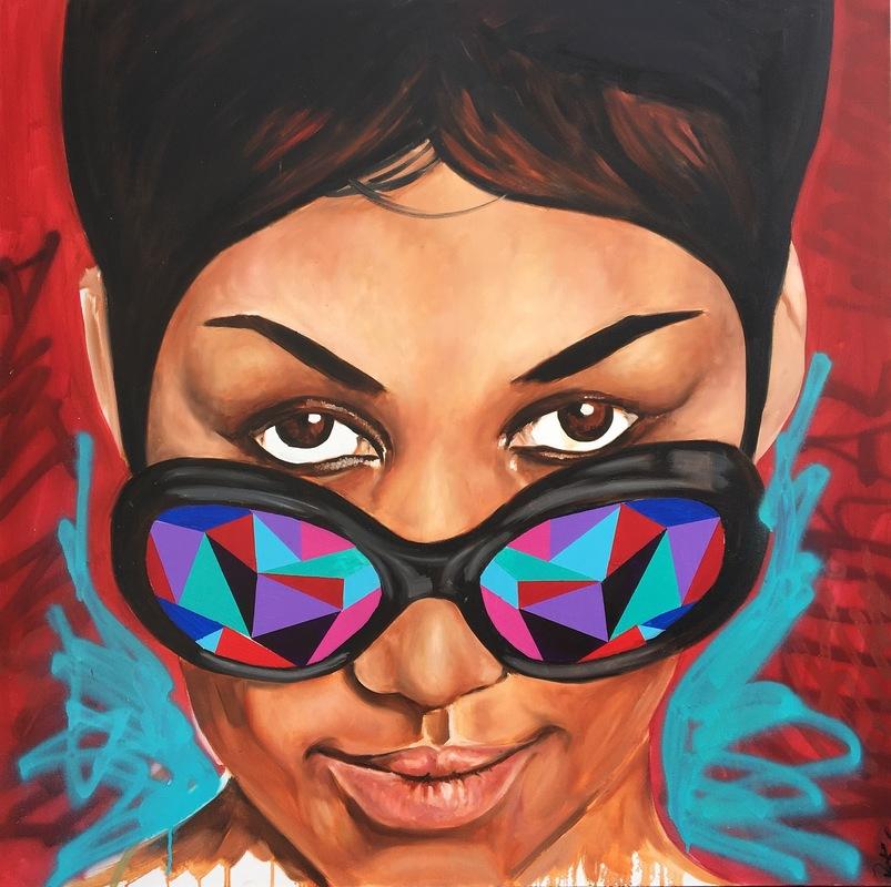 Desiree Kelly Art - Detroit based artist - Aretha Franklin