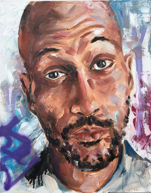 Desiree Kelly Art - Detroit based artist - Micheal Keegan Key