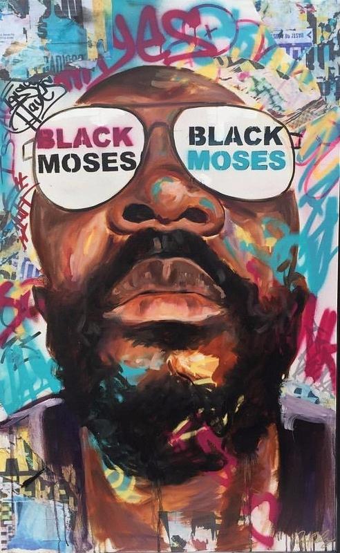 Desiree Kelly Art - Detroit based artist - Issac Hayes