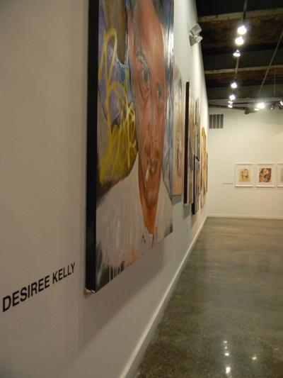 Desiree Kelly Art - Detroit based artist - Redbull House of Art