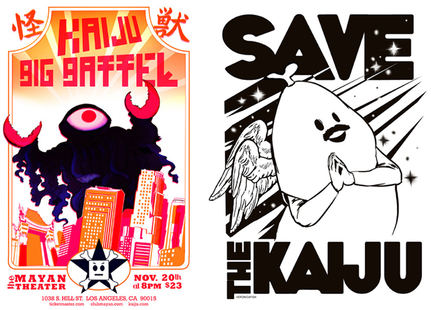 Veronica Fish | Illustration & Design - Kaiju Big Battel