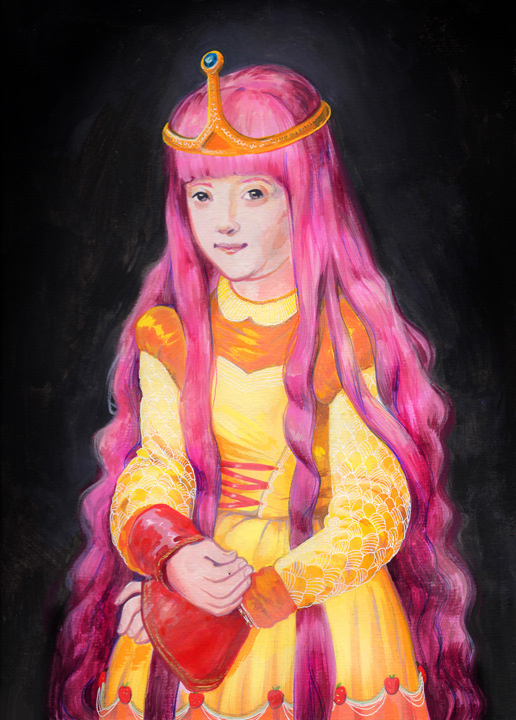 Veronica Fish | Illustration & Design - Princess Bubblegum
