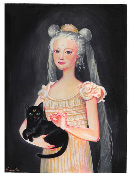 Veronica Fish   Illustration & Design - Usagi-sama