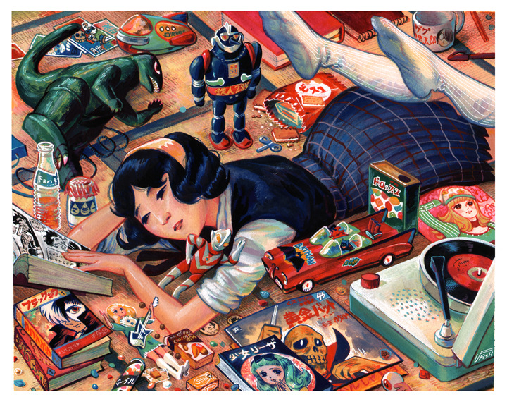 Veronica Fish   Illustration & Design - Showa 40 (1965)