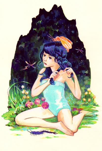 Veronica Fish   Illustration & Design - For Julia