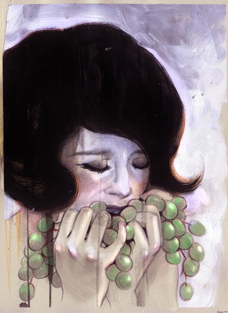 Veronica Fish   Illustration & Design - Vineyard (2008)