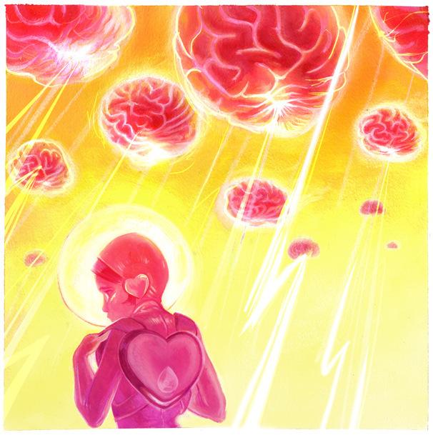 Veronica Fish   Illustration & Design - Electric Brains (2009)
