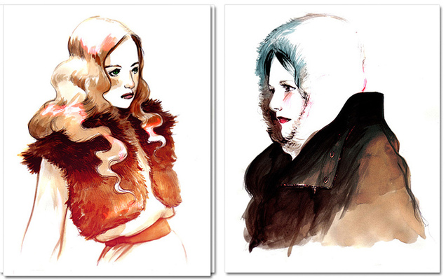 Veronica Fish | Illustration & Design - Furs