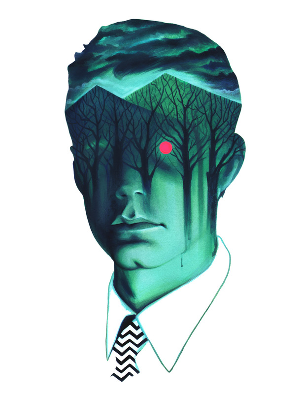 Veronica Fish | Illustration & Design - Agent Dale Cooper / Twin Peaks