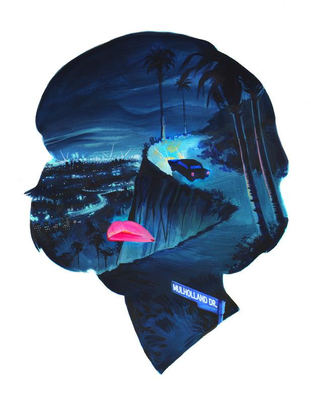 Veronica Fish   Illustration & Design - Mulholland Drive