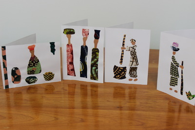 Women of Hope International - Greeting Cards - Working Women