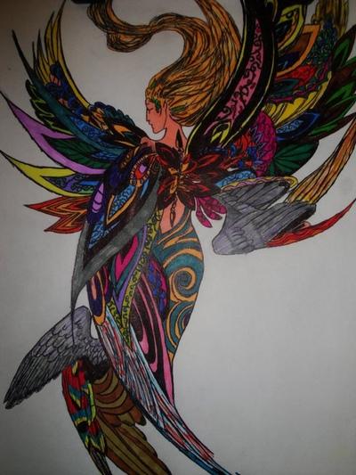 Phoenix heart - Manipulations -