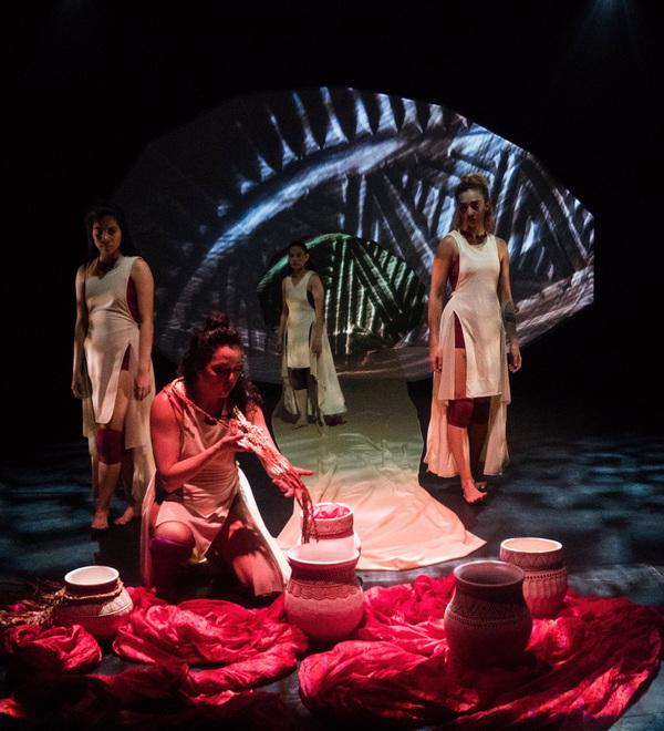 costume and fashion designer - Kaha:wi Dance Theatre: Blood Tides