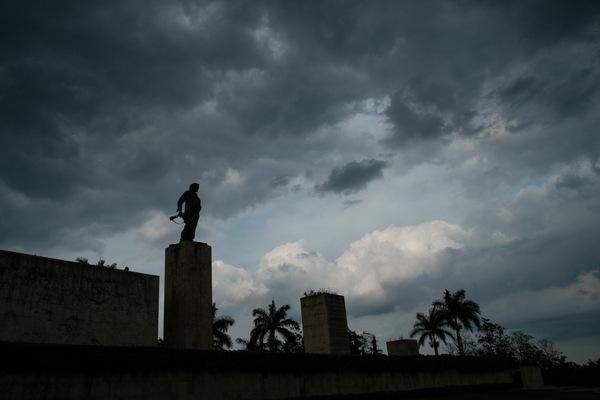 Alexis Aubin - Santa Clara, monument en lhonneur de Ernesto Guevara. Le Che était chef de colonne de cette région lors de la révolution cubaine (1956-1959).