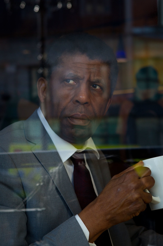 Alexis Aubin - April 04th, 2014. Dany Laferriere, writer who has been admitted to the French Academy in 2013.