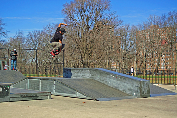 Lori George Photography - First full day of Spring in New York City, Allerton Skatepark. March 21,2014