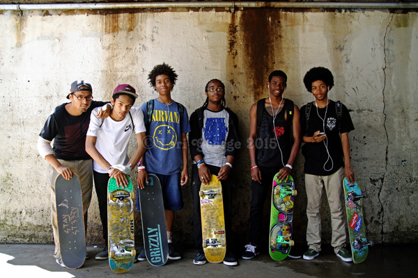 Lori George Photography - Nike SB Presents:Go Skateboarding Day NYC 2015 Bronx Sunday June 21,2015