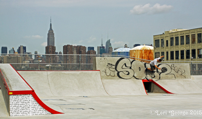 Lori George Photography - 50 Kent Ave Skate Park|Temporary Nike Pop-Up|Brooklyn New York|Thursday July 2,2015