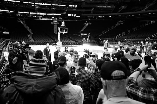 Lori George Photography - UFC 205 workouts held at Madison Square Garden|November 9,2016