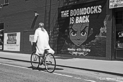 Lori George Photography - New Boondocks ad located in The Bowery, NYC for the upcoming new season. April 17,2014