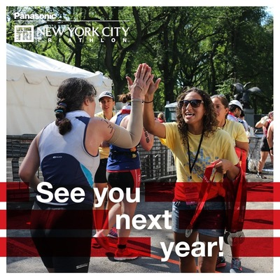 Lori George Photography - Panasonic New York City Triathlon|Finish Line|Sunday July 24,2016