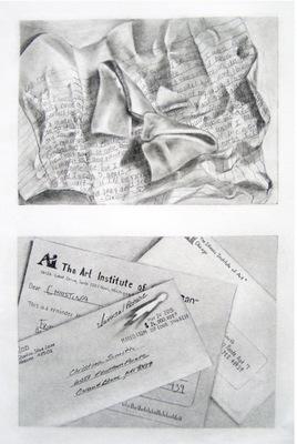 Graphic Designer - Graphite on Paper