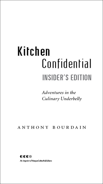 Suet Chong Design - Kitchen Confidential: Insiders Edition