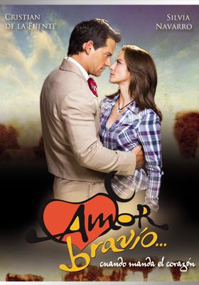 Portafolio - Portada para la telenovela Amor Bravío