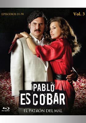 Portafolio - Portada para edición Bluray de Pablo Escobar