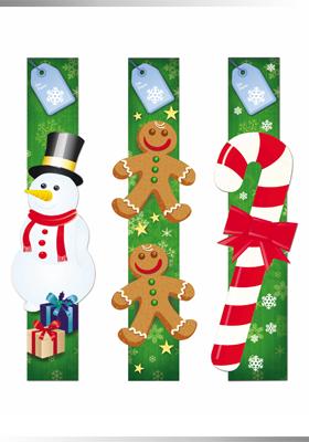 Portafolio - Diseño de cintillos para promoción navideña.