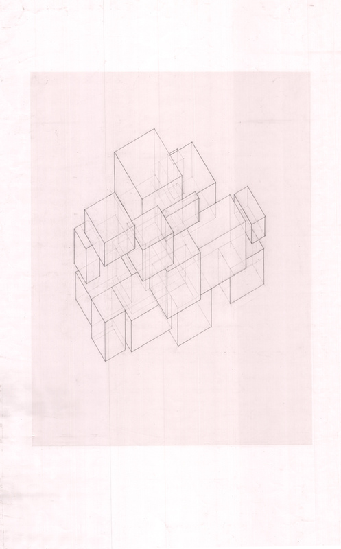 Justin Manley - Axonometric drawing.