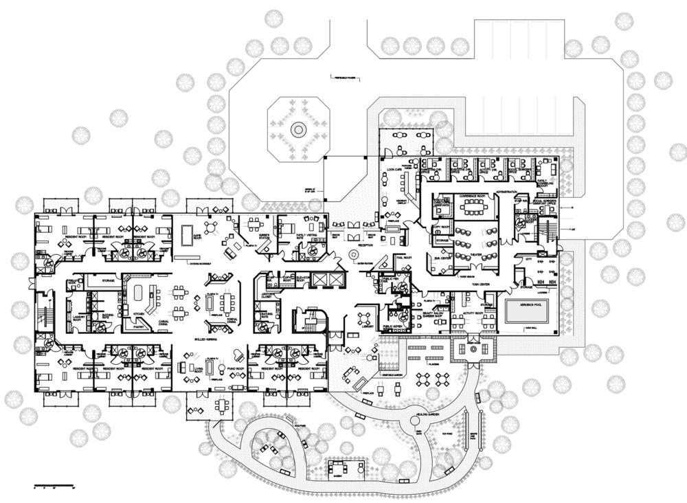 Lyla Feinsod - Skilled Nursing Floor Plan