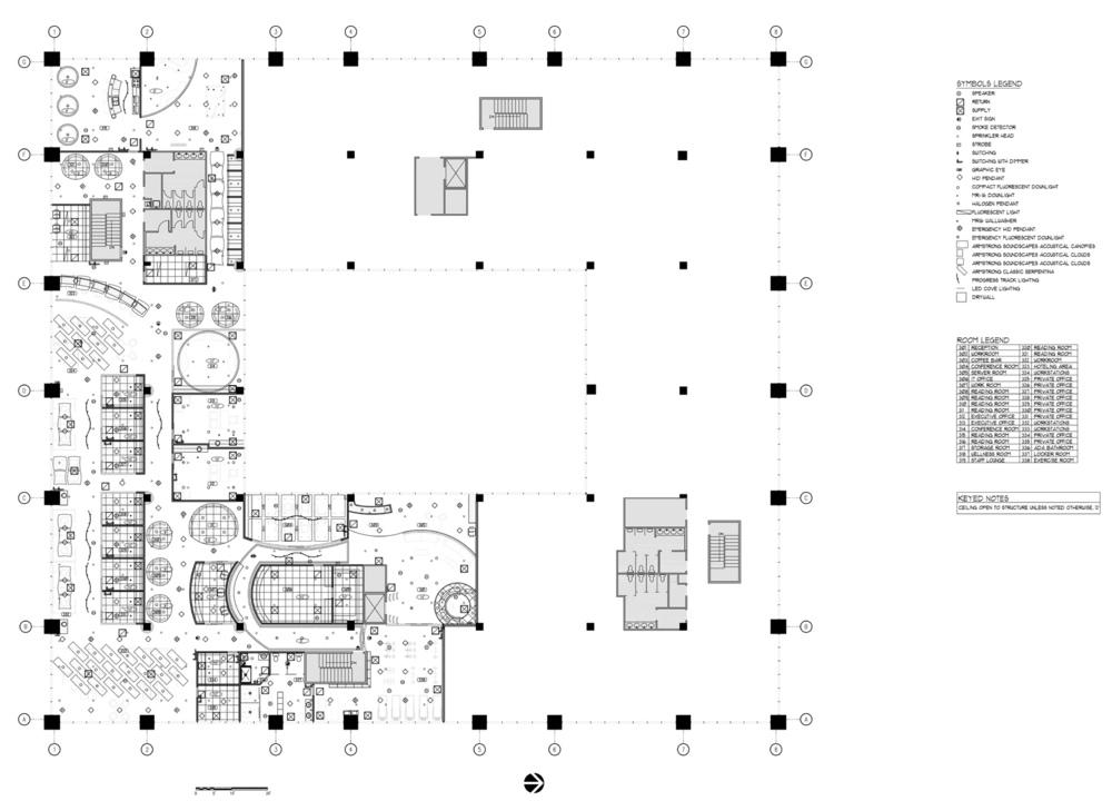 Lyla Feinsod - Office Reflected Ceiling Plan