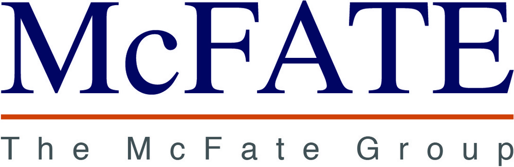 Lyla Feinsod - |The McFate Group| Logo for construction management company in Michigan