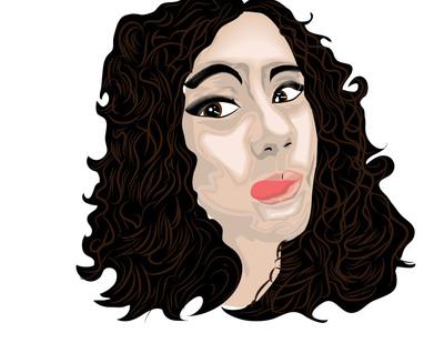 CoryCarr - Vector Portrait #1