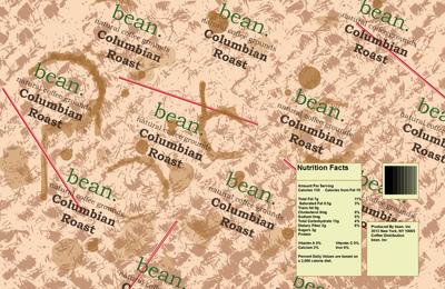 CoryCarr - Bean Can label