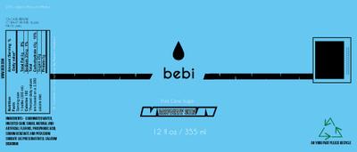 CoryCarr - Bebe soda label blueberry