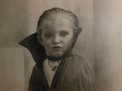 LoPresti Arts - Portrait of a Young Boy as a Vampire, 2013